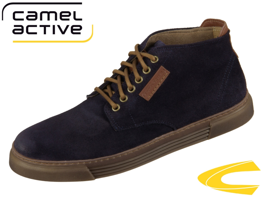 camel active Racket 460.20-11 midnight Oil suede