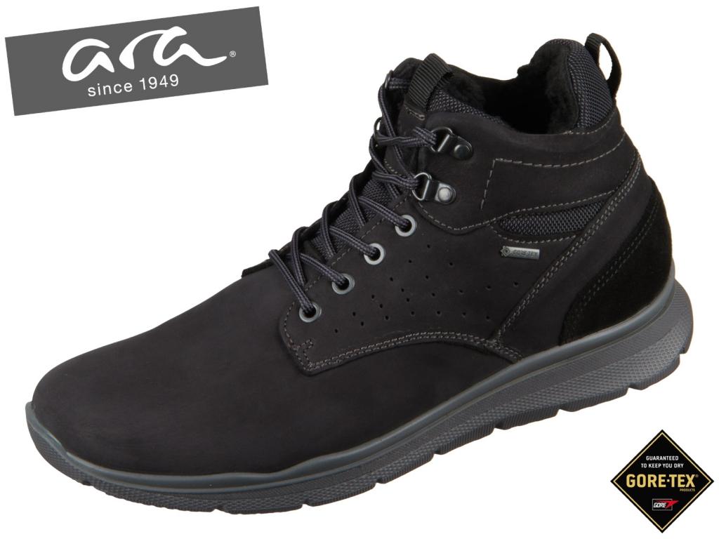 ARA Benjo 11-24603-61 black Nabuk