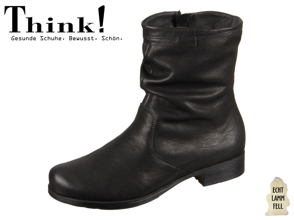 Think! DENK! 85010-00 schwarz Softcapra Vegetabil
