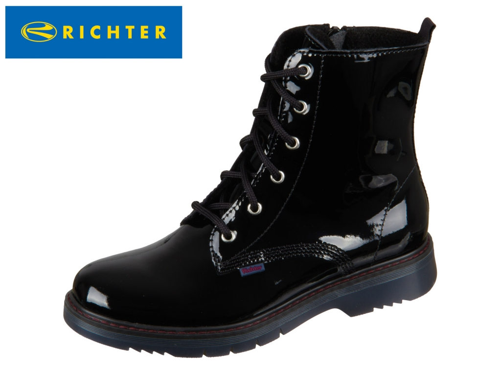 Richter 4653-642-9900 black Lackleder