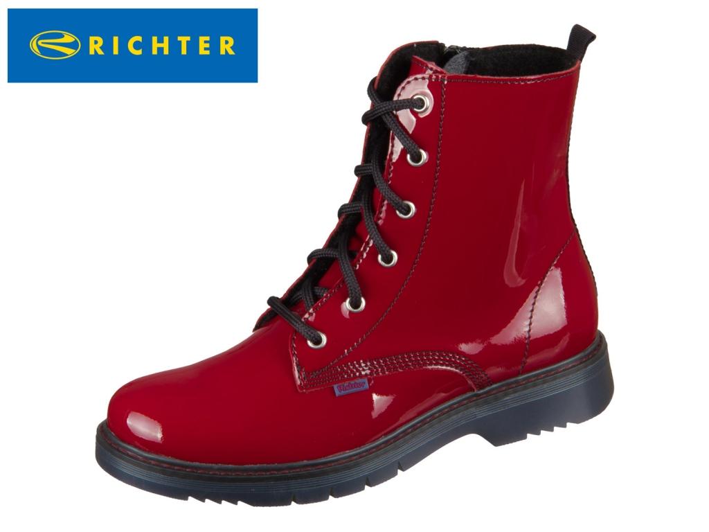 Richter 4653-642-4500 rosso Lackleder