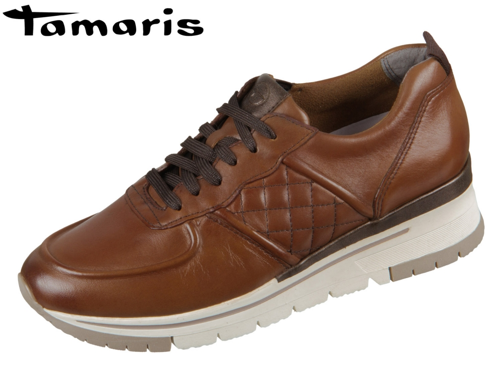 Tamaris PureRelax 1-23719-33-305 cognac Leder
