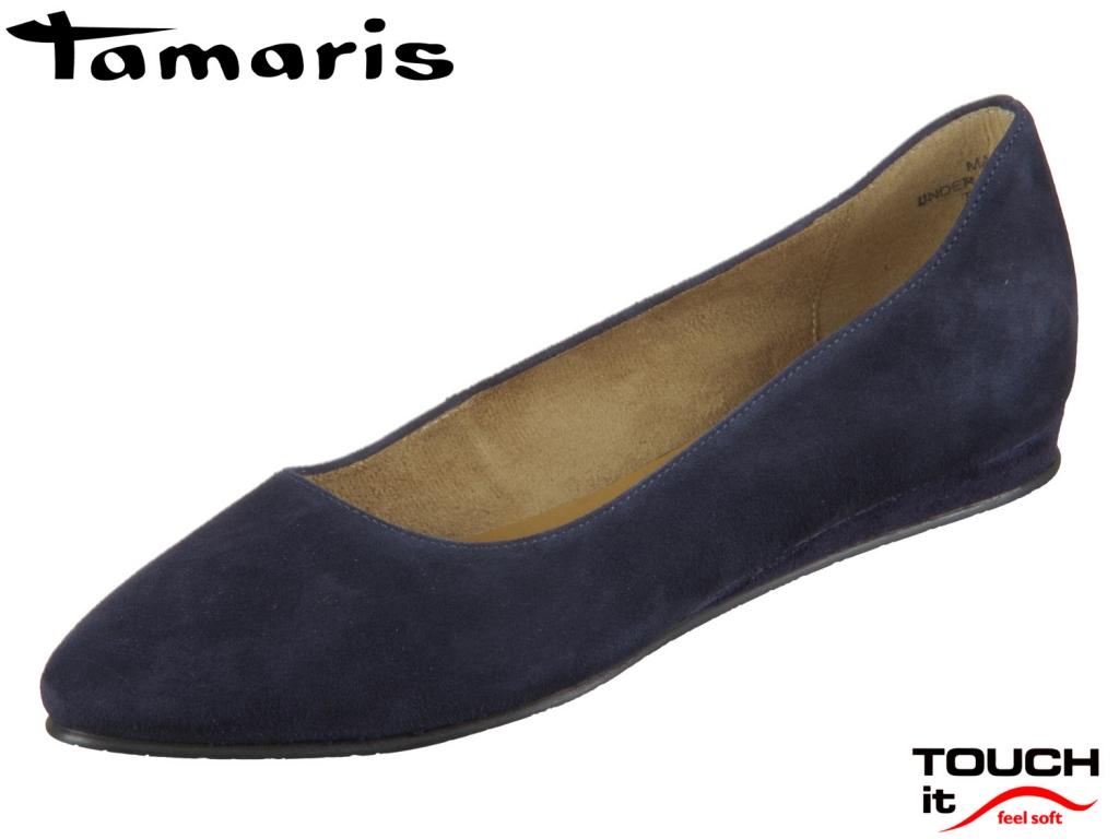 Tamaris 1-22118-24-805 navy Leder