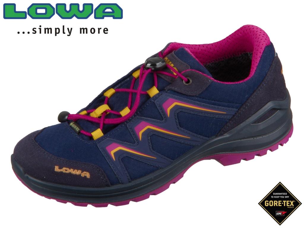 Lowa Maddox GTX Lo Junior 340121-6918 navy fuchsia GTX