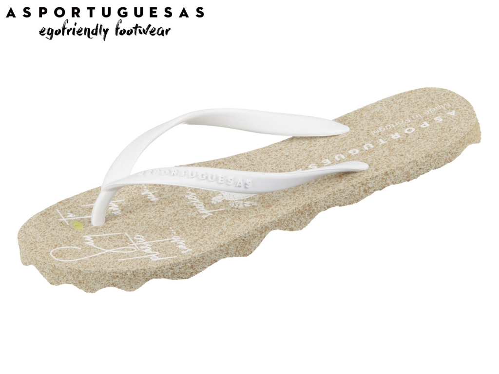Asportuguesas Turtle L P018056000 white Rubber Strape
