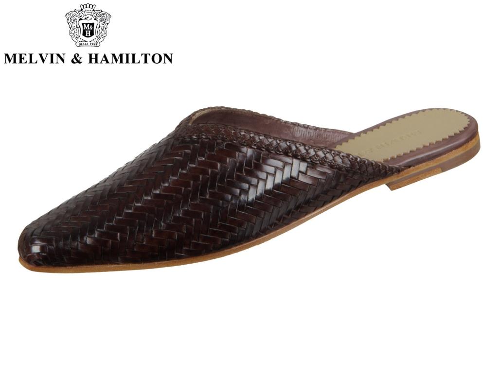 Melvin Hamilton Joolie 15 105114 dark taupe Woven Haring Bone