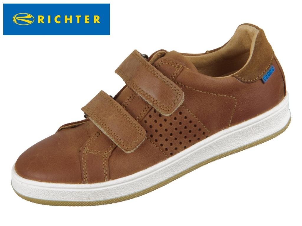 Richter 6826-7131-2900 cognac Glattleder Velour