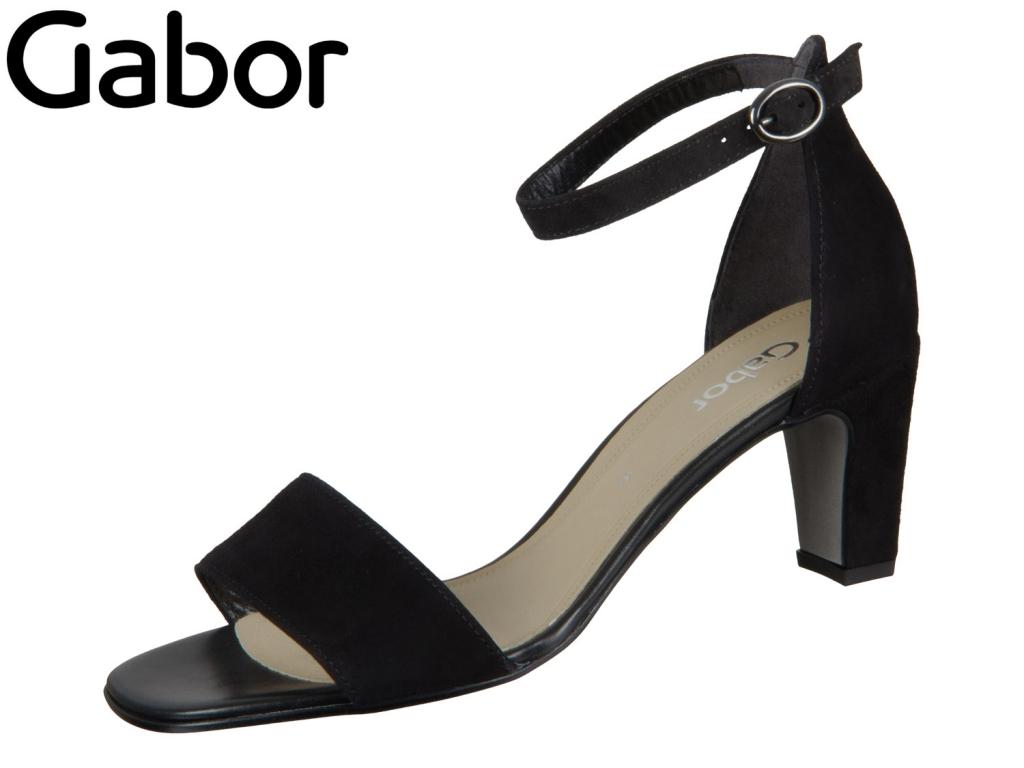 Gabor 41.790-17 schwarz Samtchevreau