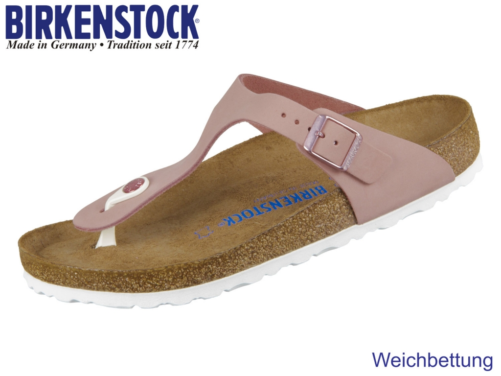 Birkenstock Gizeh 1016400 old rose Soft Nubuck