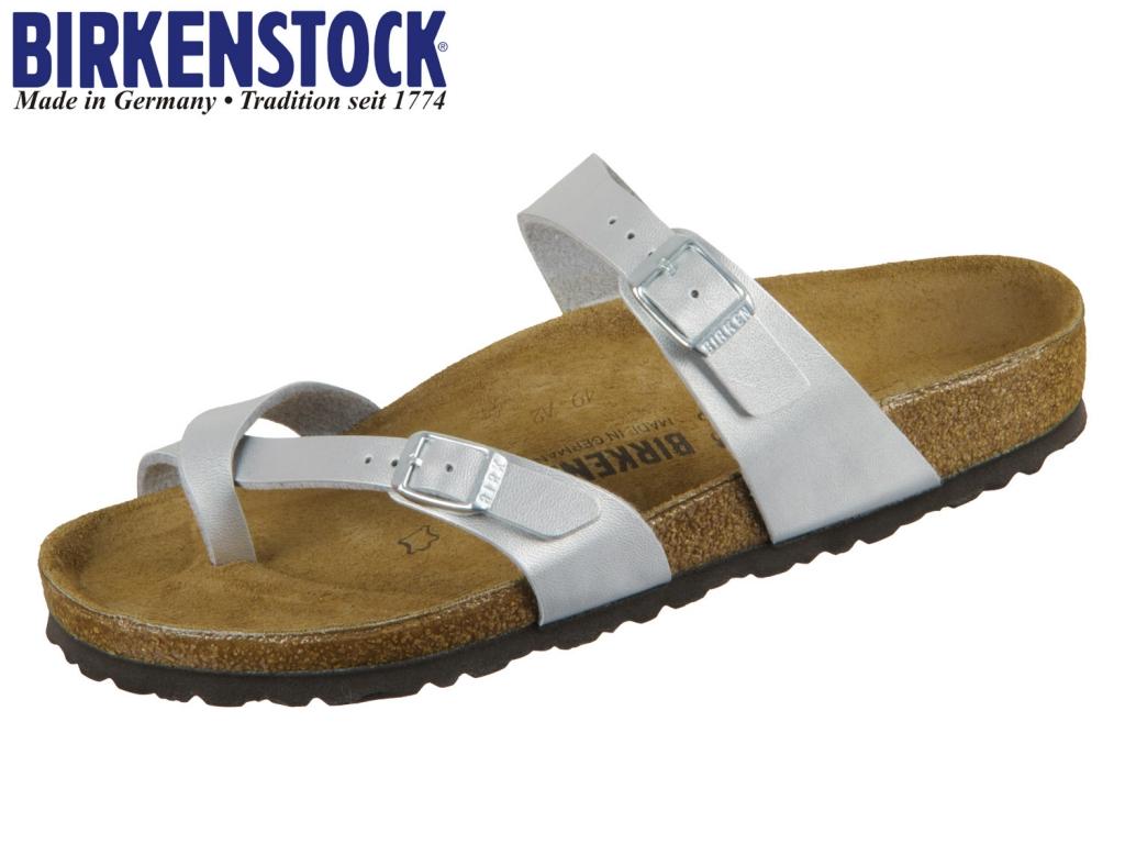 Birkenstock Mayari 071081 Silver Birko Flor