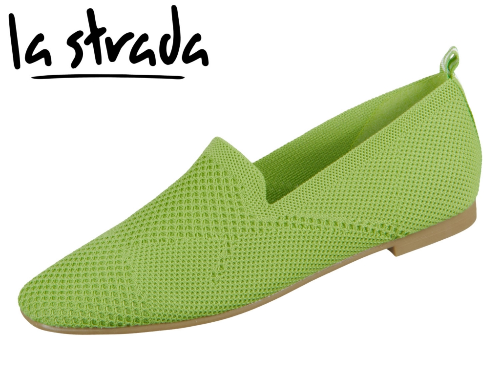 la strada Knitted Loafer 1804422-4570 green knitted