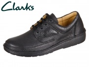 Clarks Nature II 00111553 black Grained Leather