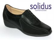 Solidus Mira 550260-570-0001-M schwarz Vitello-Velour