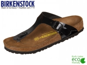 Birkenstock Gizeh 043661 schwarz Birko Flor Lack