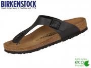 Birkenstock Gizeh 043691 schwarz Birko-Flor
