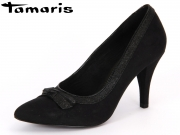 Tamaris 1-1-22417-29-092 black gold Imit. Suede