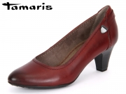 Tamaris 1-1-22408-29-562 sangria Soft Nappa Leather
