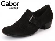 Gabor Kreta 56.123-47 schwarz Nubuk Soft