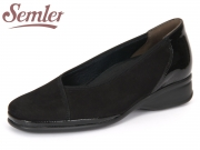 Semler Ria R1985-401-001 schwarz Nubukina-Knautsch-Lack