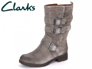 Clarks National Sugar 20356666 light grey Suede