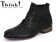 Think! 81686-00 schwarz Rustic Calf