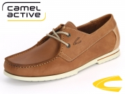 camel active Nassau 378.11-01 brandy sand Washed Nubuk