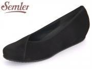 Semler Gina G5012-040-001 schwarz Nubukina