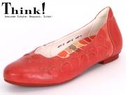 Think! BALLA 82160-74 kirsch kombi Sport Calf Effekt