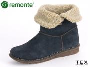 Remonte R1091-03 blue Samtcalf