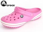 Crocs Crocband-X Clog K 15076-6Z5-120 party pink-white Crosslite