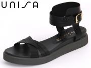 Unisa Casta-OL black Leather