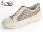 Semler Maxi M6285-323-742 sand-panna Antik-Nappa-Laser-Print