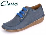 Clarks Funny Dream 261059144 navy Nubuck