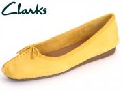 Clarks Freckle Ice 261059514 honey Nubuck
