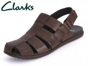 Clarks Valor Sky 203531637 7 080 dark brown Leather