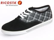 Ricosta Susi 51.26100-090 schwarz Velour-Check