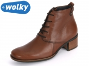 Wolky Pistol 932330 brown Papete Leather