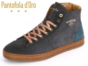 Pantofola d Oro Parma Mid Men 06041173.29Y dress blues Leder