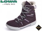 Lowa Lilly GTX MID 350130-5645 aubergine-lila Leder-Textil