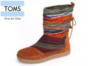 TOMS Nepal Boot 10006221 cognac Suede
