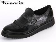 Tamaris 1-24604-35-098 black kombi imit Soft Nappa