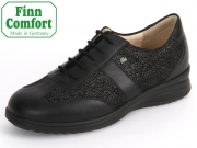 Finn Comfort Lazio 02223-901366 schwarz plata Nappaseda