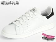 Skechers Onix 12315-WBK white black trimm Leather