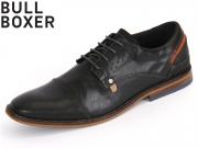 Bullboxer 615 K2 5462A 2495 schwarz Leder