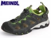Meindl Rudy Junior 2056-03 gau-grün Velourleder