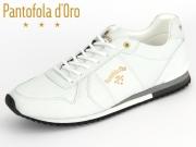 Pantofola d Oro Teramo Uni Low 35100561FG bright white new Leder-Textil