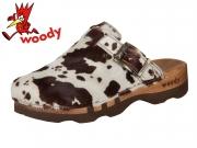 Woody Lukas F 6911 B-W braun weiss Fell