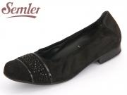Semler Desiree D2258-401-001 schwarz Nubukina Knautschlack