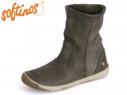 Softinos Iggy 8SD900269 004 military green Washed Leather