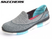 Skechers 14010-CCBL charcoal Textile